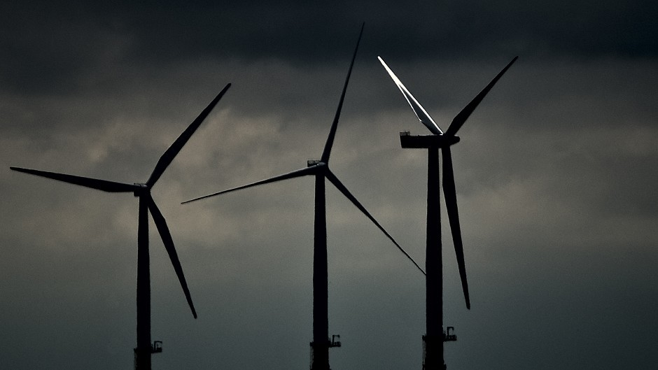 BT has reached a major deal to buy energy from a wind farm in Scotland