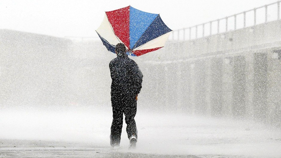 Heavy, thundery showers have been forecast