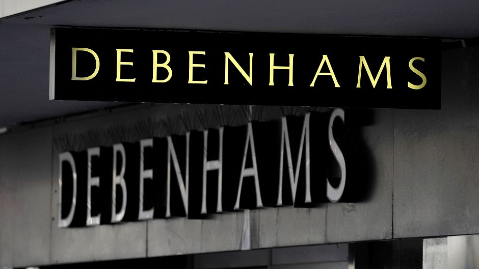 Debenhams to close these 22 stores - including one in Scotland