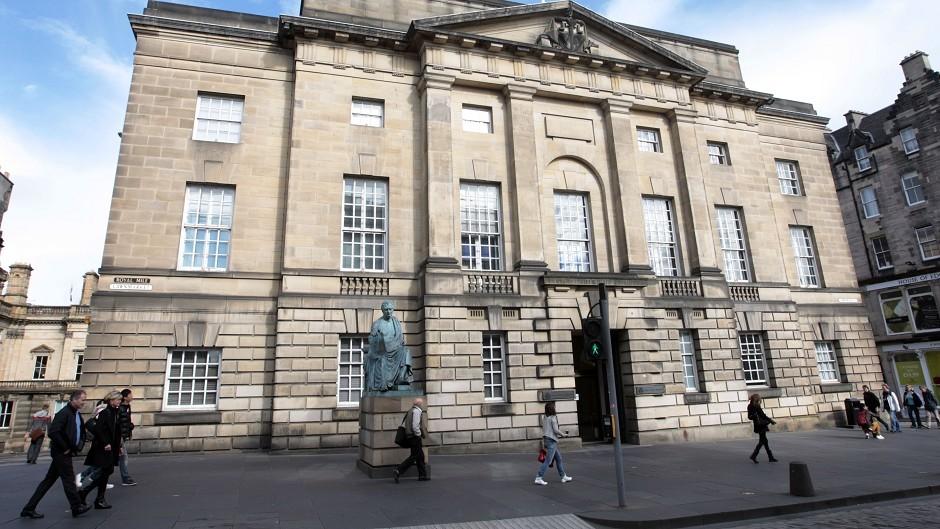 The case was heard at Edinburgh High Court