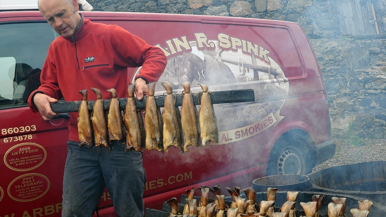 Arbroath Smokies at Portsoy Boat Festival