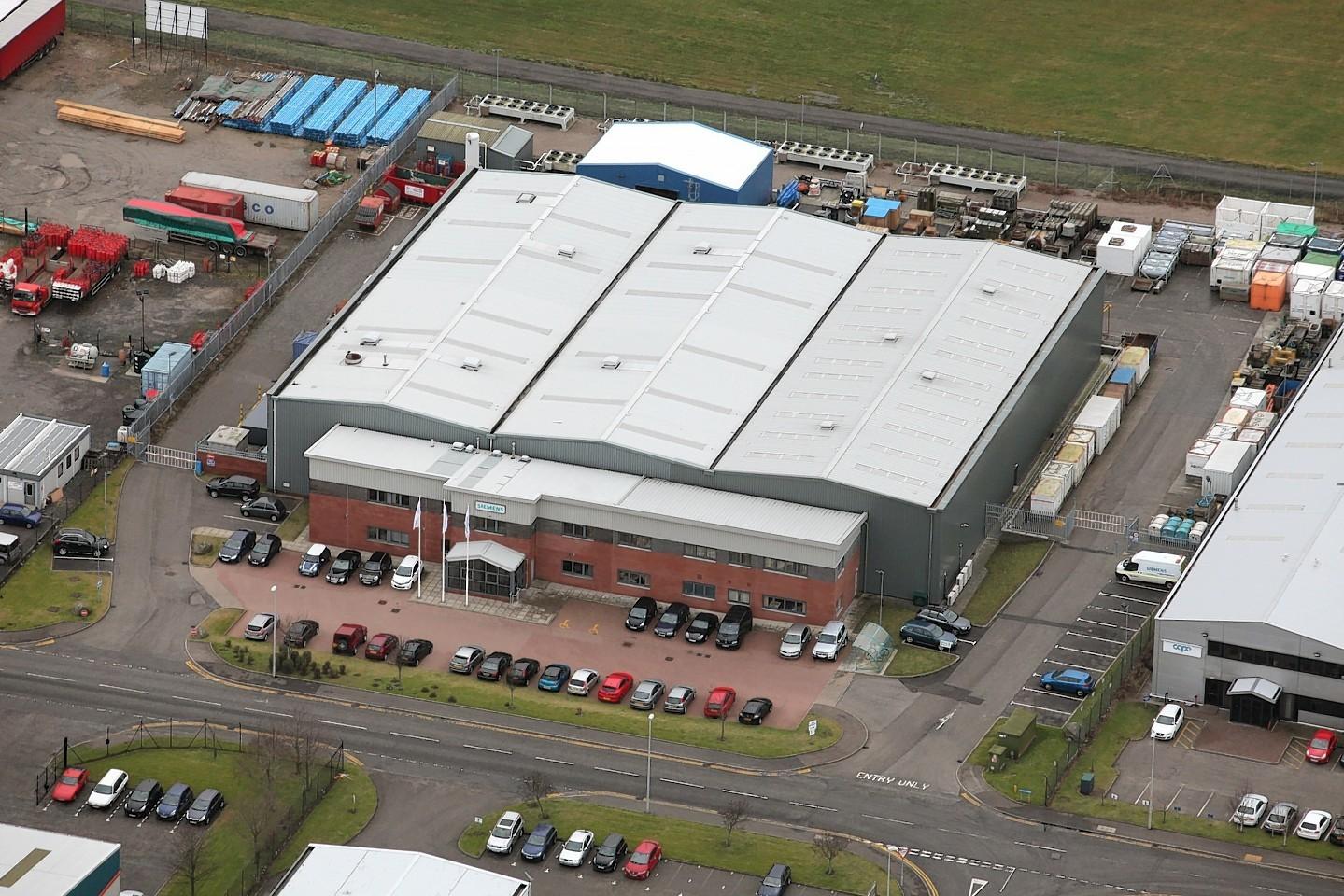 Siemens' site at Dyce