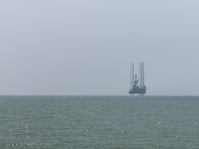 The rig in the South China Sea