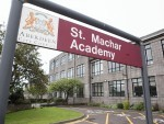 St Machar Academy, near to where the accident took place