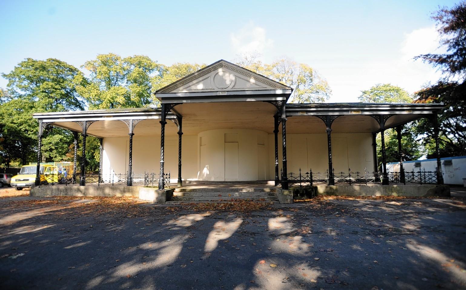 Westburn House, in Westburn Park