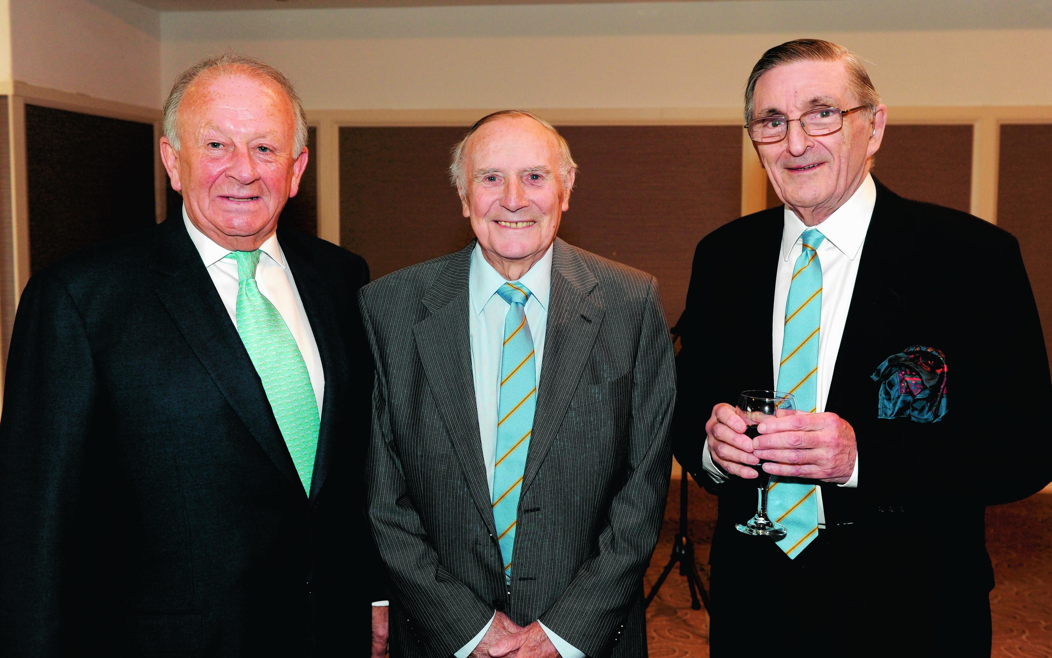 Stewart Spence, John McHardy and Buff Hardie