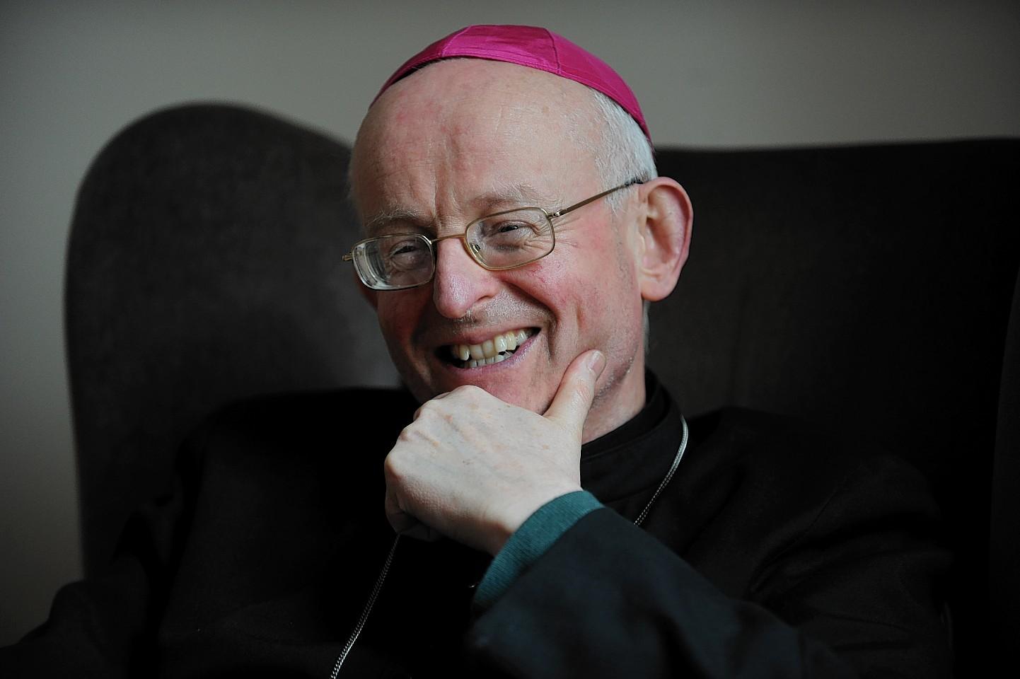 Bishop of Aberdeen, Rt Rev Hugh Gilbert