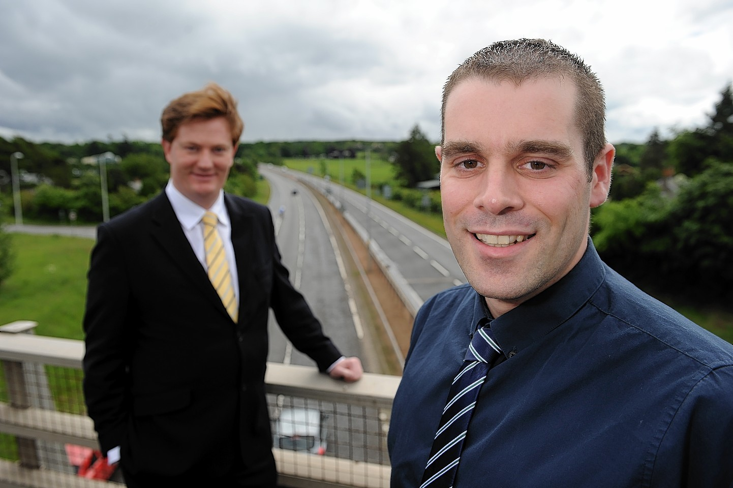 Danny Alexander and Mike Burns