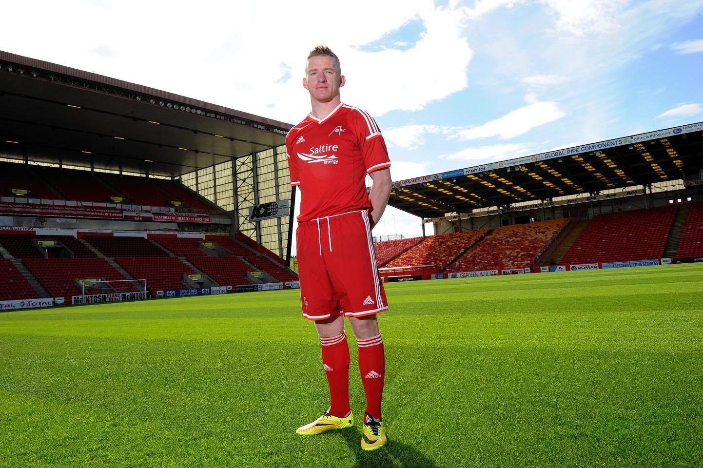 Dons midfielder Jonny Hayes