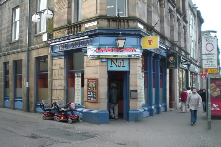 The Moray Bar in Inverness