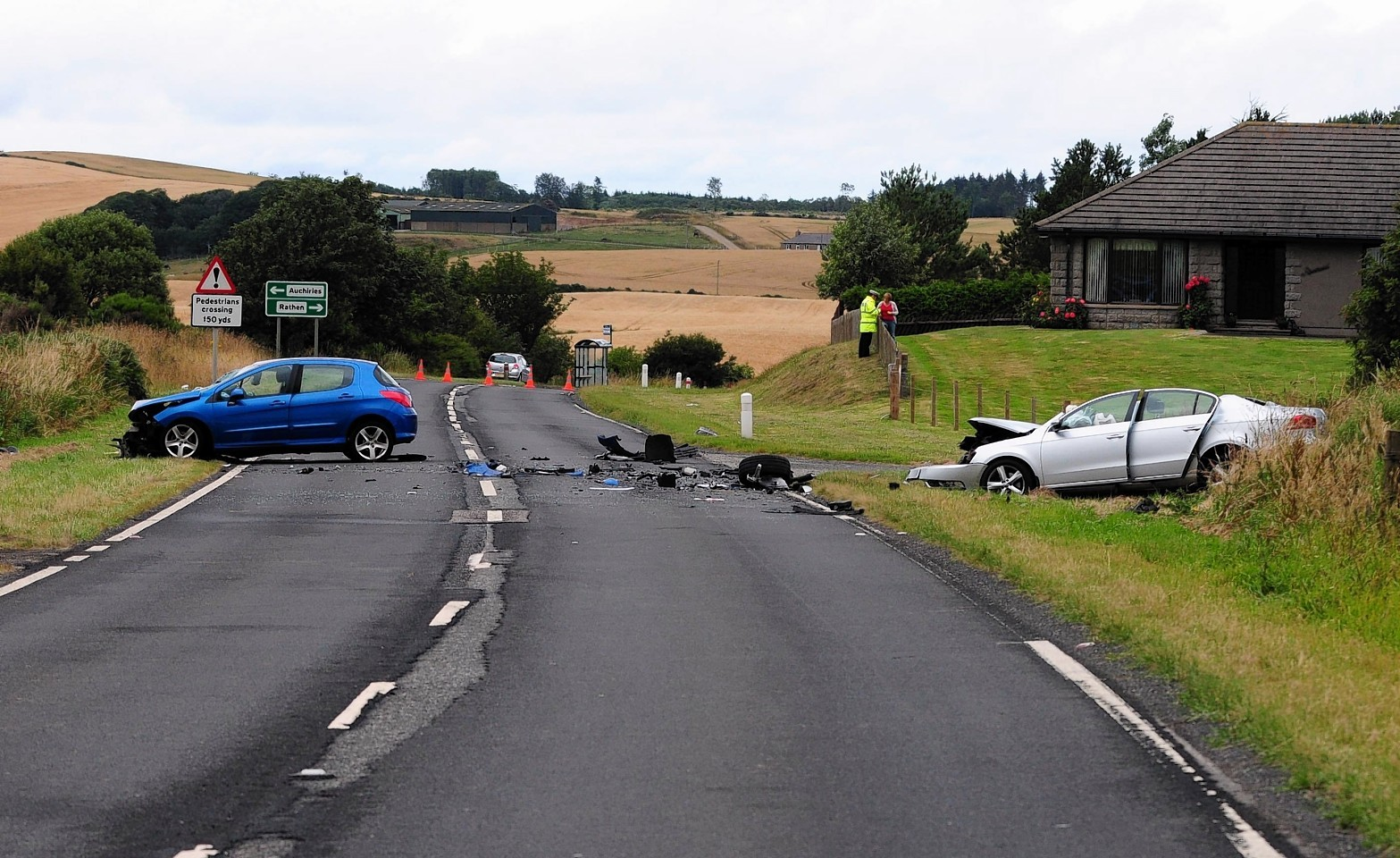 The A90 crash
