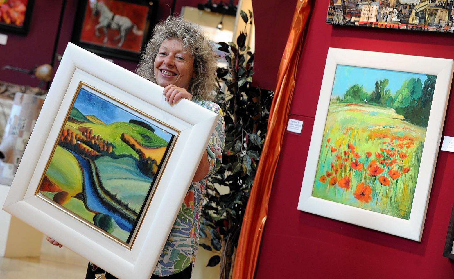 Lorna Purvis at ArtAboyne