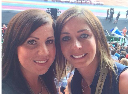 Curling's Eve Muirhead dons her selfie skills