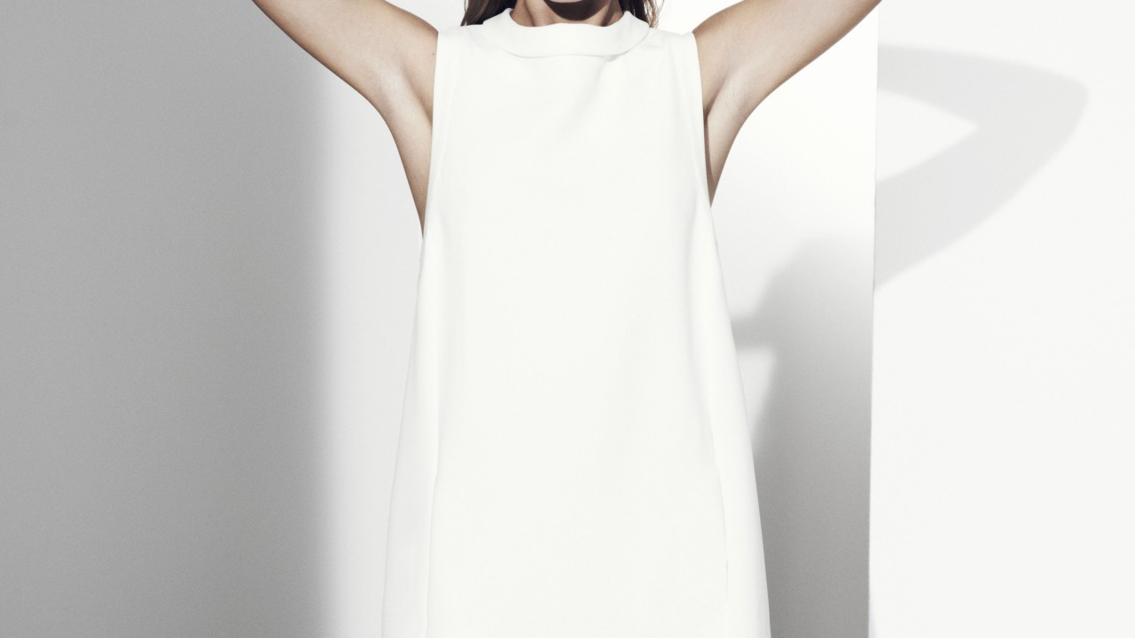 Autograph white dress £69 Marks & Spencer