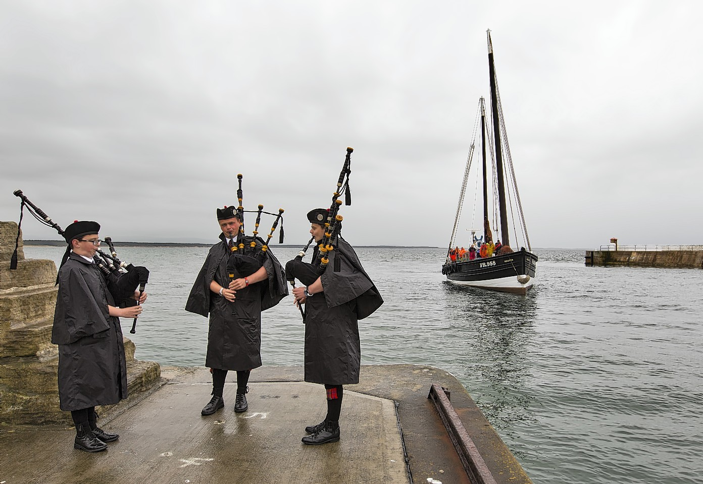 The reaper arrives at Burghead