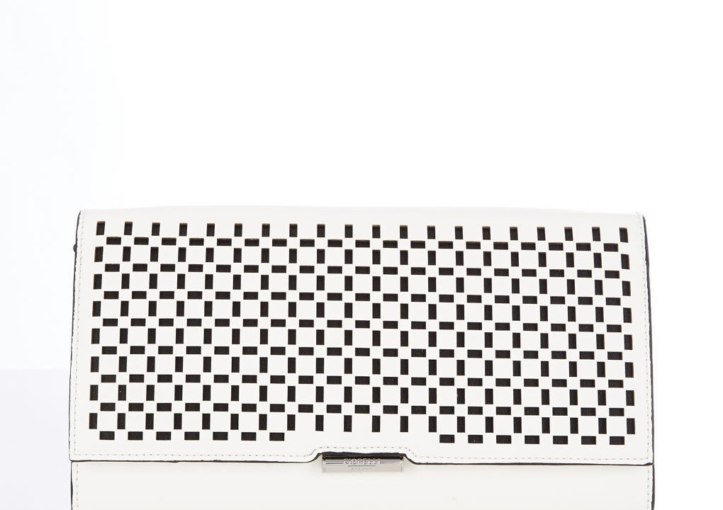 Fiorelli white clutch bag £34 at Wallis