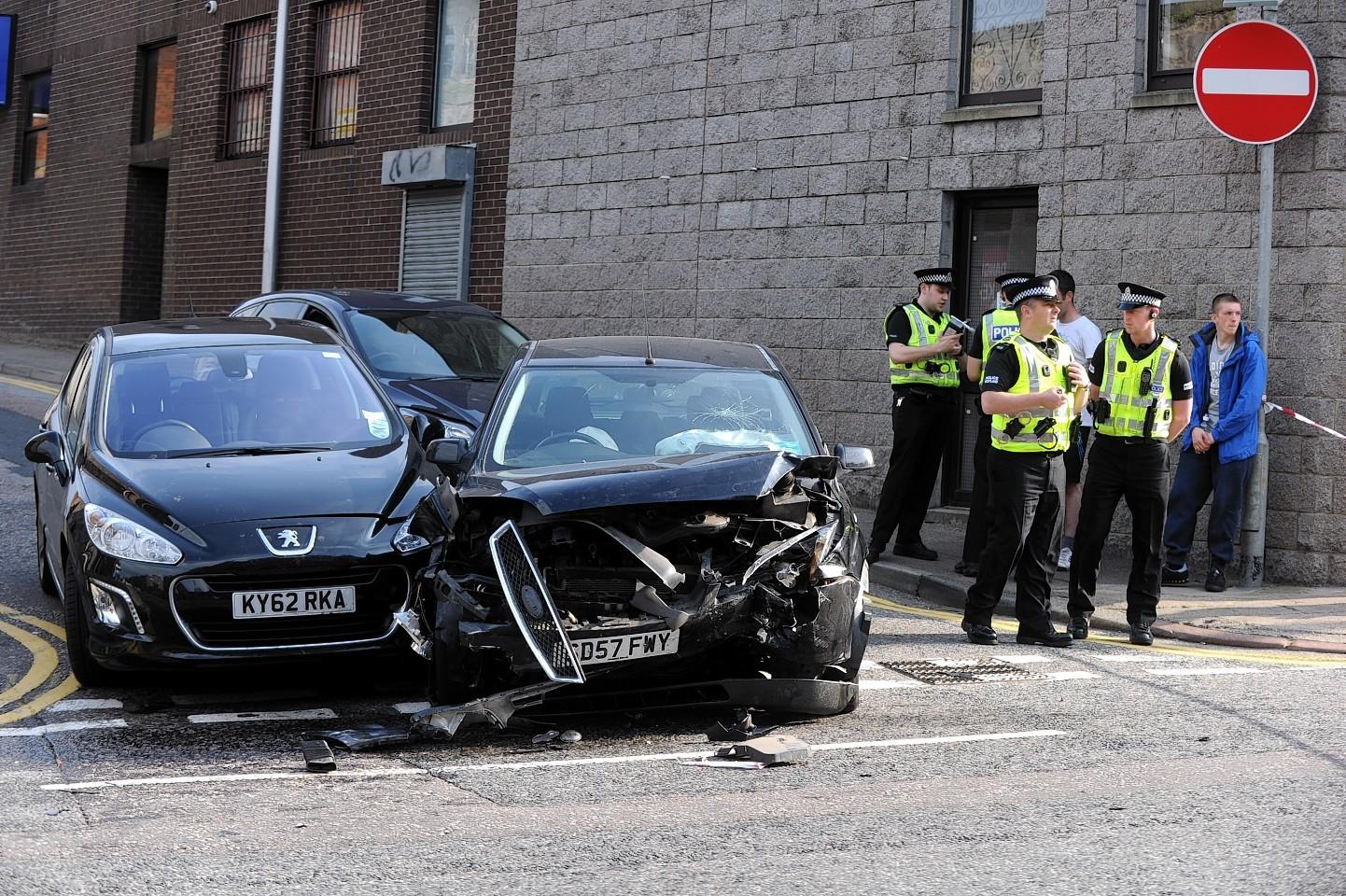 Hutcheon Street crash