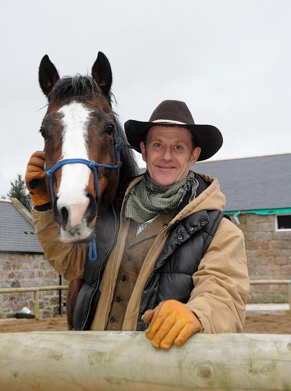 Jock Hutchison at Horseback UK
