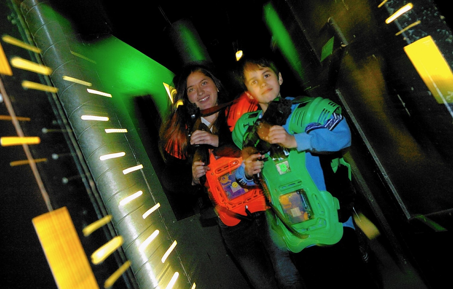Laser tag in action