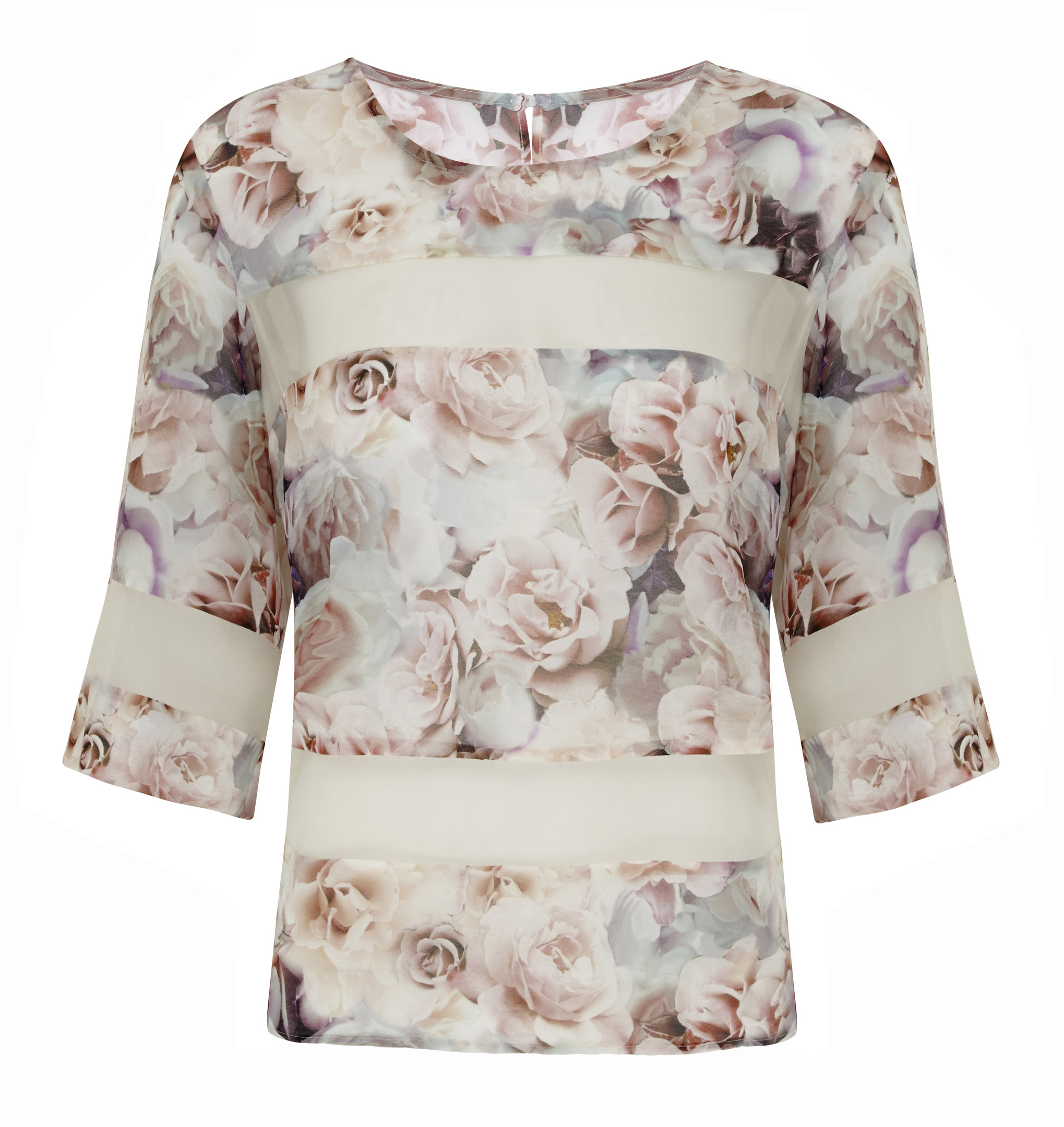 Limited Edition Floral Shell Tee £35.