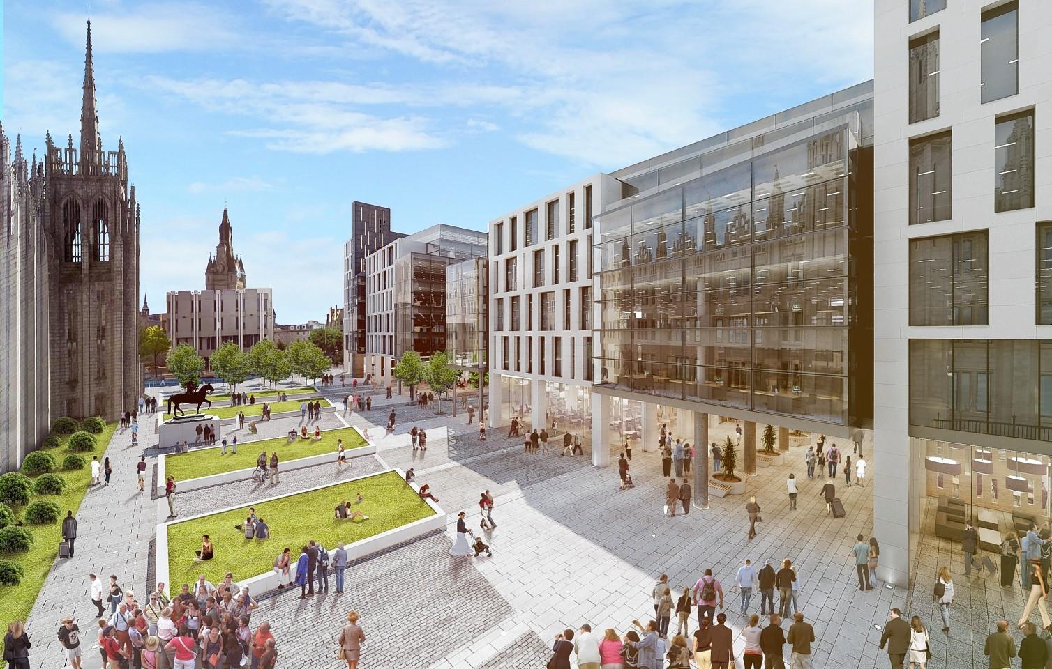 Marischal Square plans