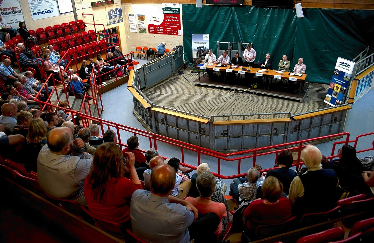 NFU Scotland's independence debate at Dingwall Mart