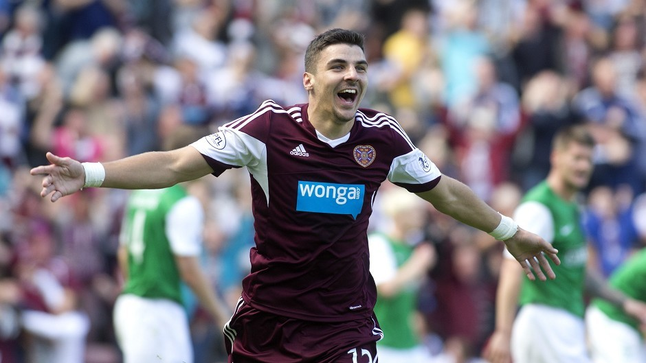Callum Paterson has played in numerous positions for Hearts