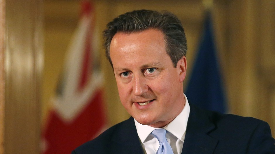 David Cameron is calling on the 'silent majority' of Scots who want to stay in the UK to make their voices heard