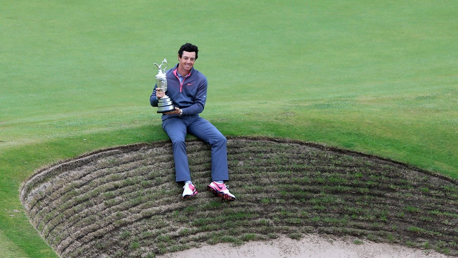 Rory McIlroy held on to win the Open Championship by two shots