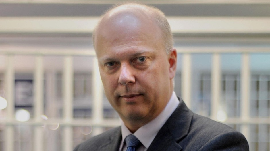 Leader of the House Chris Grayling