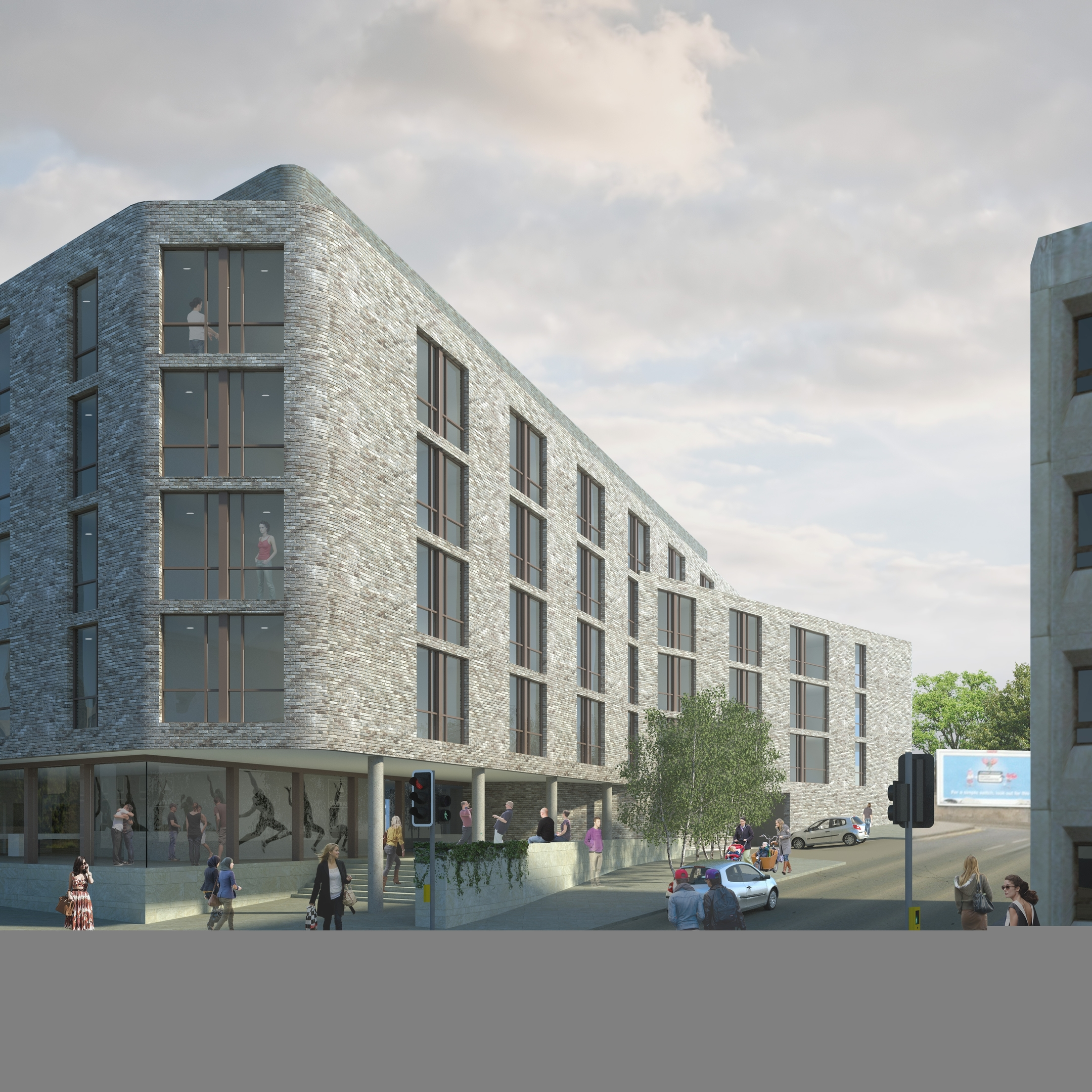 Powis Place student accommodation development