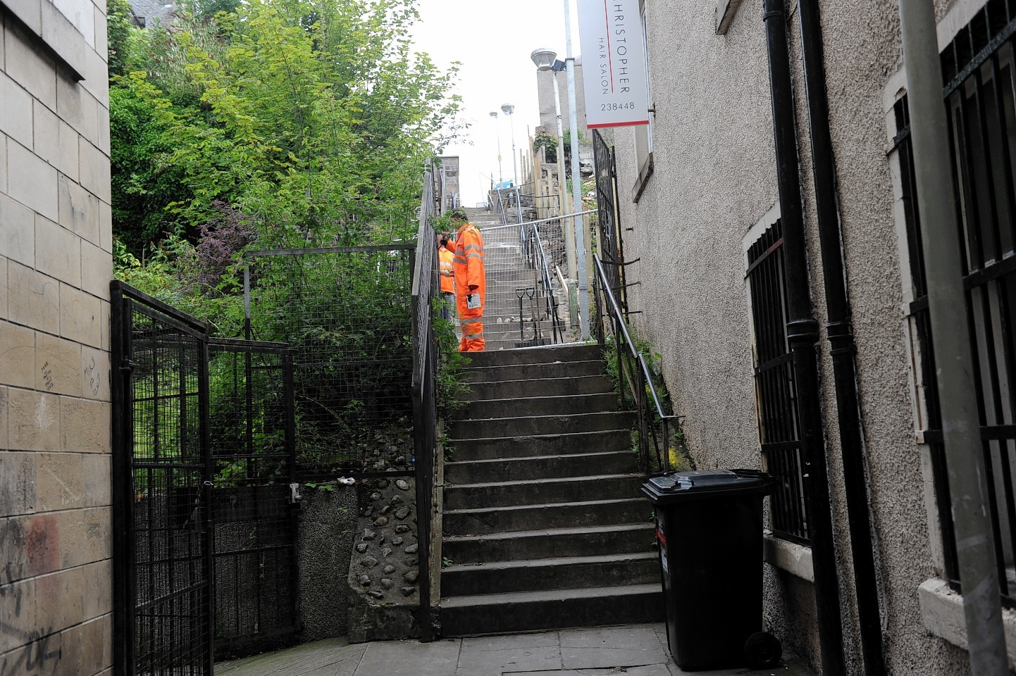 Raining's Stairs will benefit from a complete makeover with the steps, walls, railings and lighting all due to be refurbished