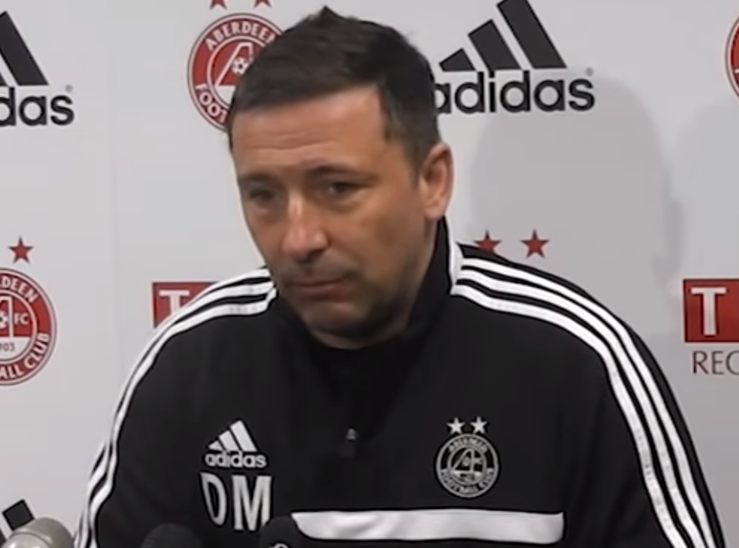 "Derek McInnes says Aberdeen are looking to add another ""one or two"" players"