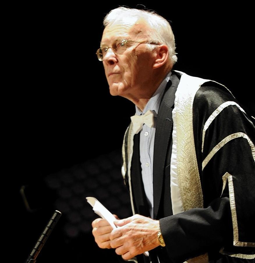 Sir Ian Wood at the graduations