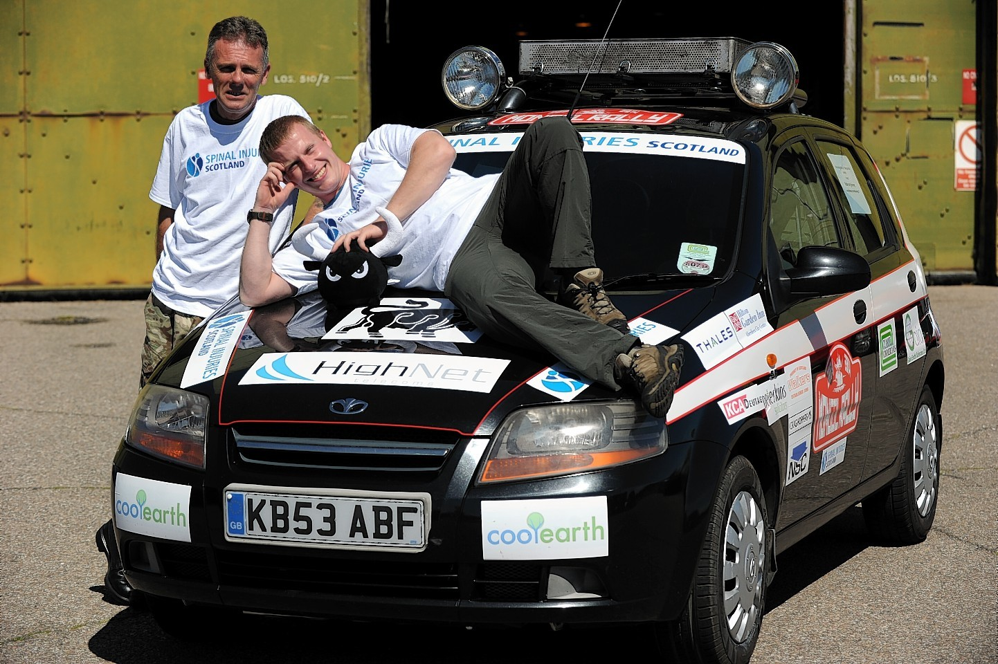 Squaddies set off on the Mongol Rally