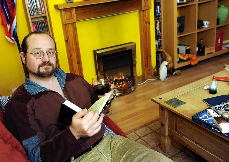 Crime writer Stuart McBride