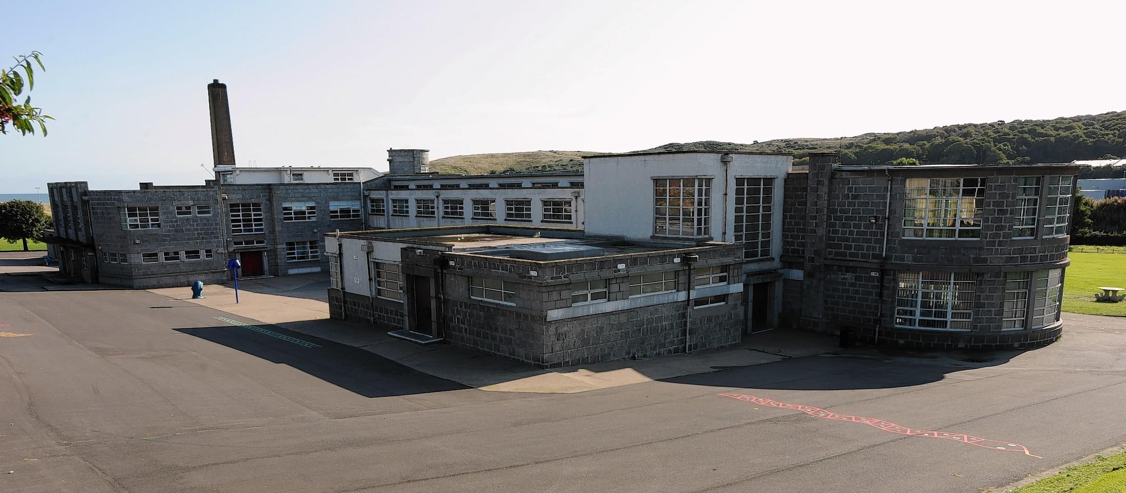 Tullos Primary School, Aberdeen has been attacked by vandals