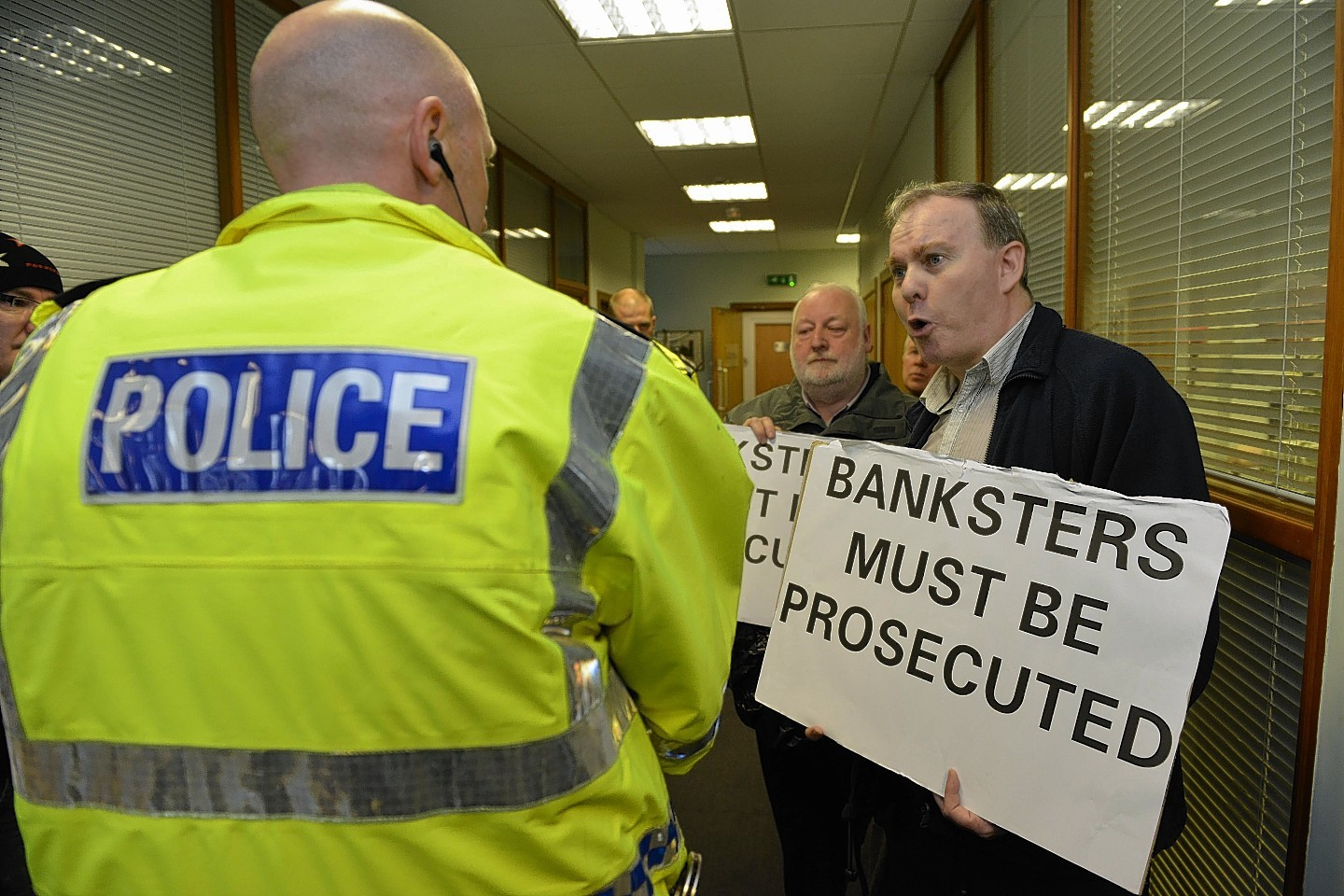 Banks have faced growing protests over their actions