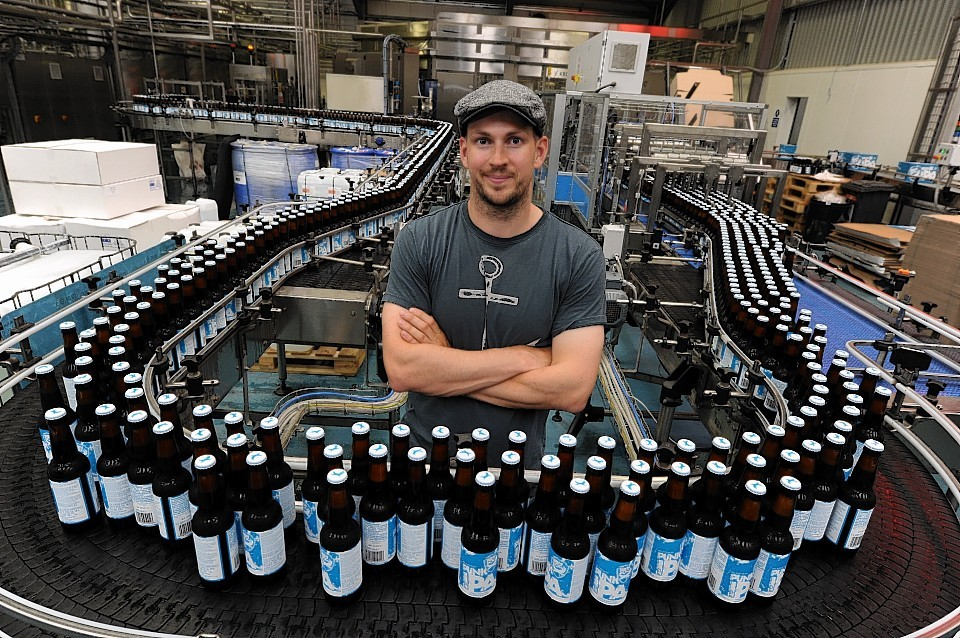 BrewDog production line. Fact 10: The world's longest hangover lasted 4 weeks after a Scotsman consumed 60 pints of beer