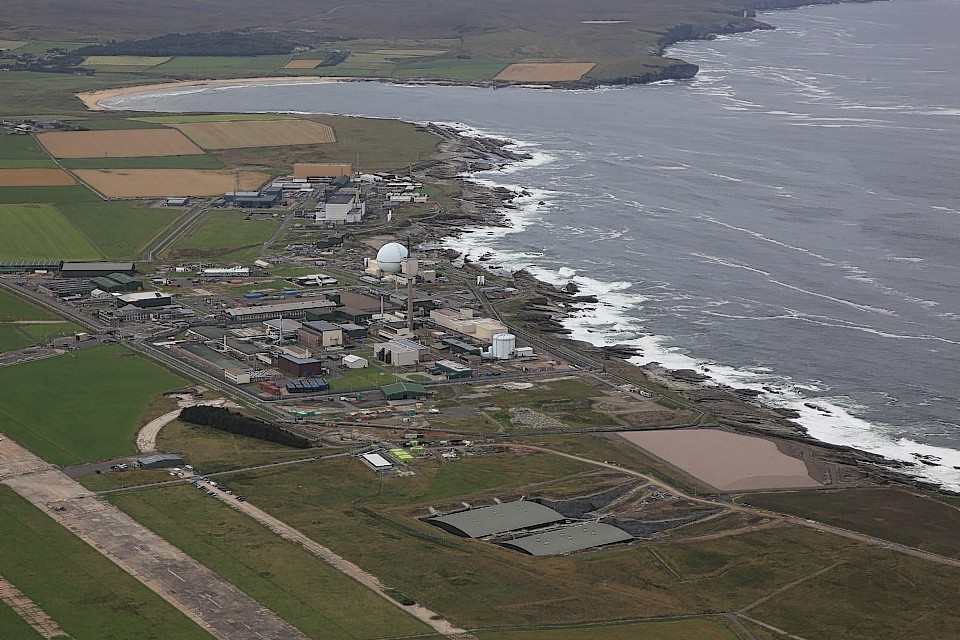 The nuclear test complex at Dounreay