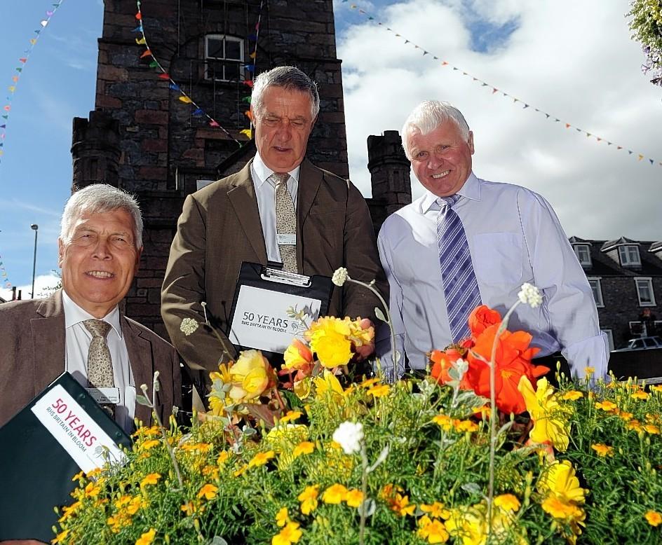 Dufftown in bloom