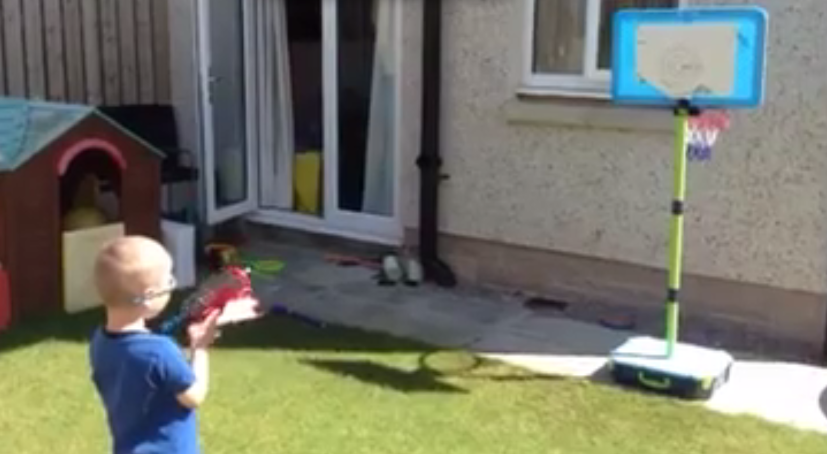 A future Team Scotland player thrives in target shooting