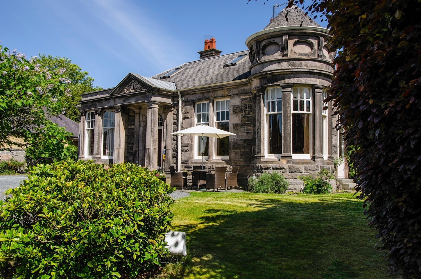 The Lodge guesthouse in Elgin