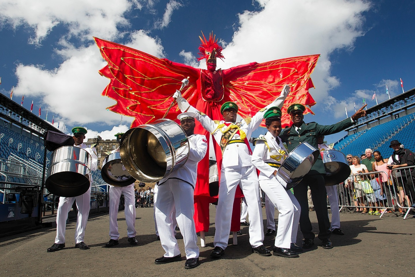 The Trinidad and Tobago band give a taste of things to come in Edinburgh