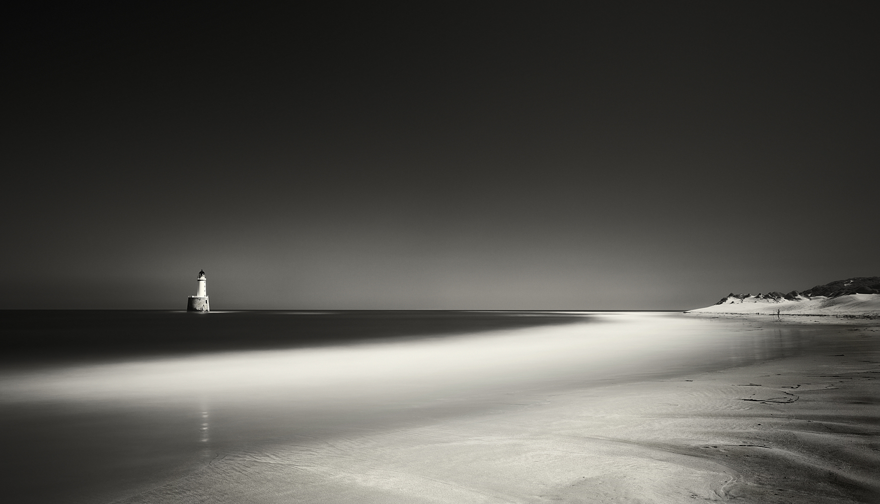 Rattray Head by Donald Cameron