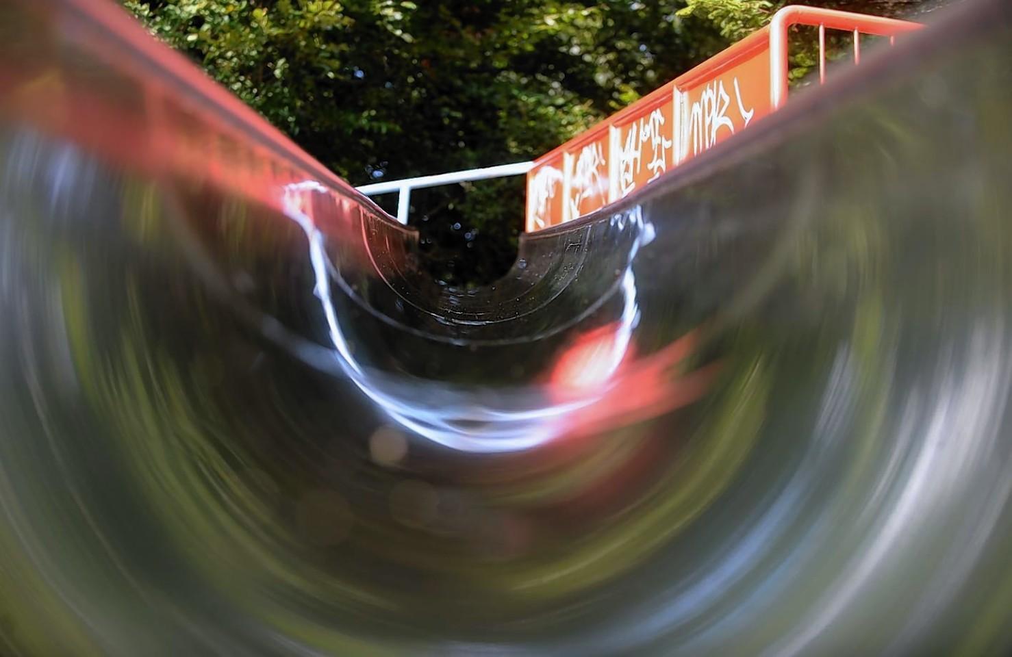 The infamous Duthie Park slides