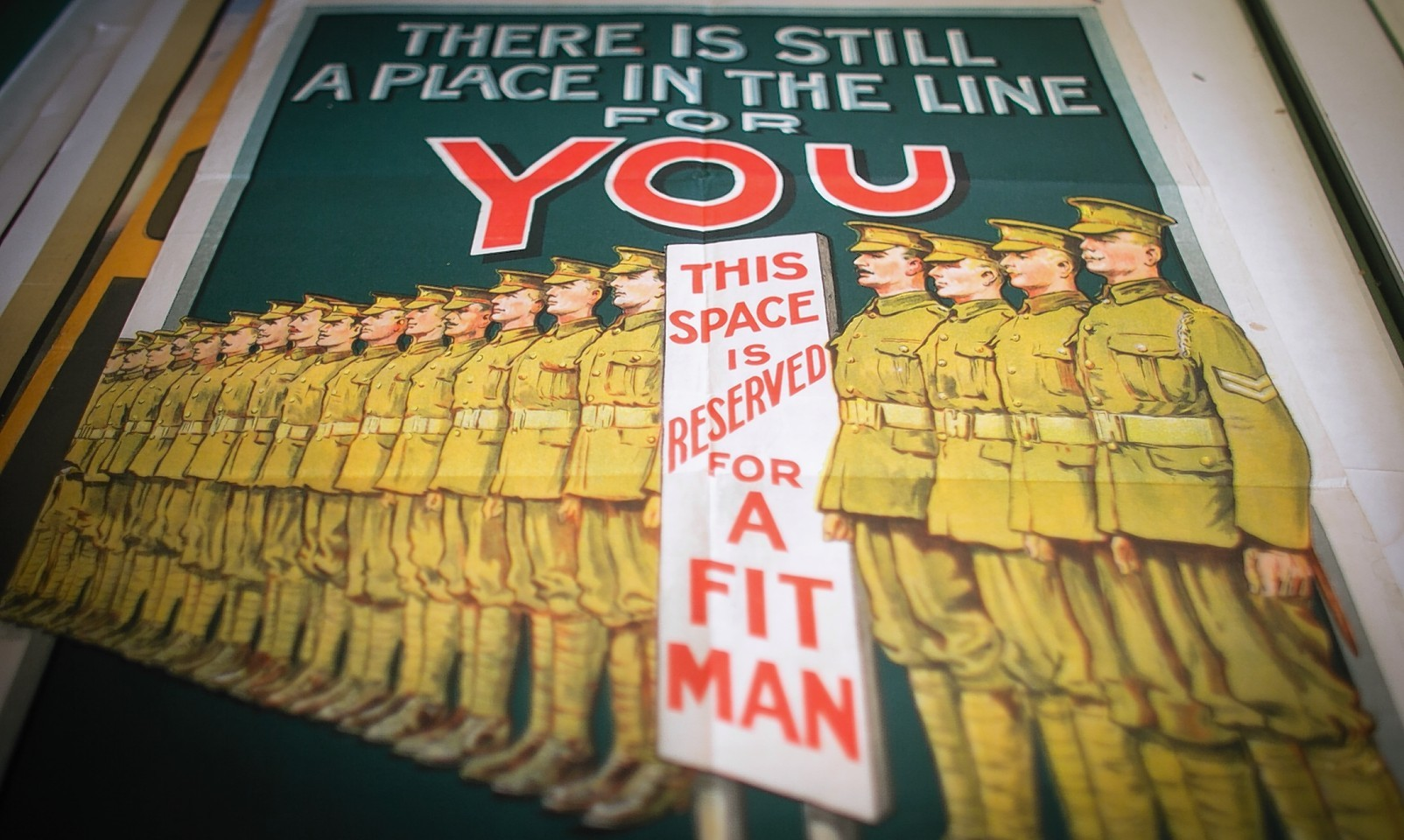 A collection of British Army recruitment posters from the First World War