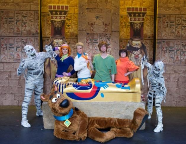 Scooby-Doo arrives in Aberdeen