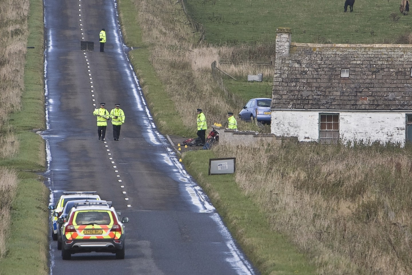 Alice Ross believed there was no-one else involved in the accident at Auckengill, six miles south of John O' Groats.