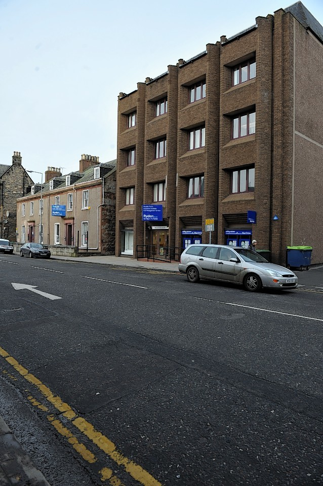 Ballantyne House in Inverness's Academy Street